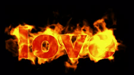 casa : love word in flames