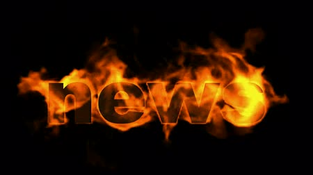 ardente : burning news text.