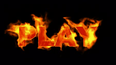 İngilizce : play word,fire sign.