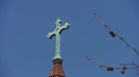 post and beam construction : Qingdao Catholic Churchs Cross & tree.