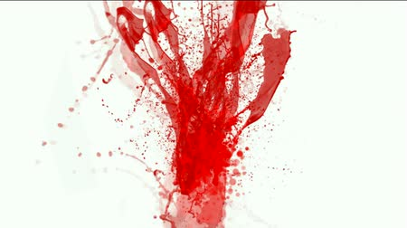 rozlití : blood & plasma,splash red paint fluid,liquid & ink.
