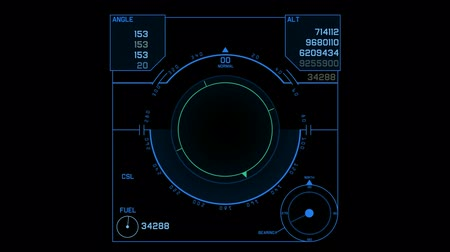 keşif : aviation radar GPS navigation screen display,center of target,computer game interface,hi-tech software panel.