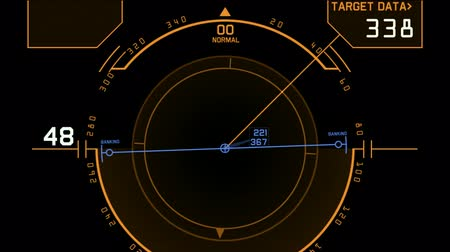 pusula : computer game interface,hi-tech software panel,aviation radar GPS navigation screen display,center of target.