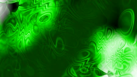 drip bulb : abstract green ripple and waves background,Psychedelic flow liquid. Stock Footage