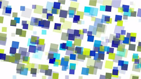 текст : blue square papers & mosaic debris background.