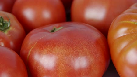 meal : A set of fresh tomato fruit. Stock Footage