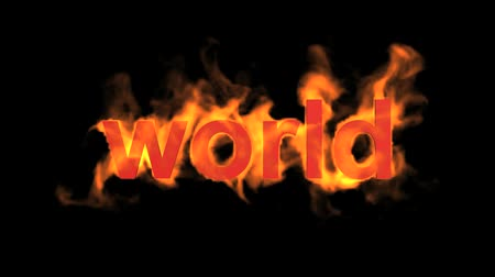 palavras : flame world word,fire text.