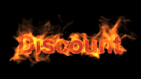 oferta : flame discount word,fire text.