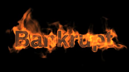 engulf : flame bankrupt word,fire text.