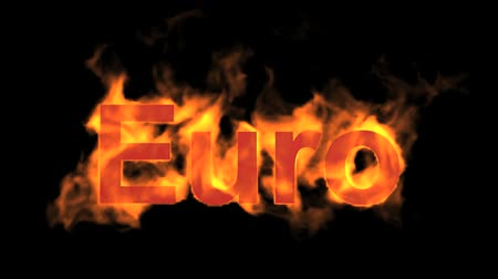 engulfed : flame Euro text.