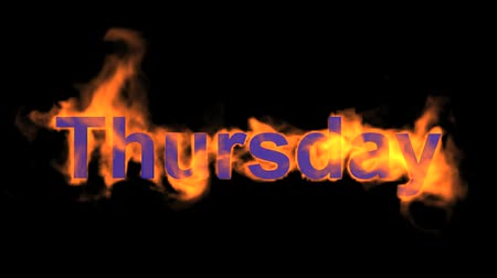 engulf : flame thursday word,fire week text.