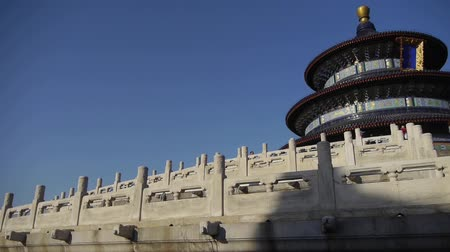 határkő : Temple of Heaven in Beijing.Chinas royal ancient architecture.Stone railings.