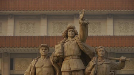 chinese culture : china beijing revolutionary martyrs memorial sculpture,communism.
