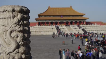 запрещенный : dragon & cloud carving totem in forbidden city,Chinas royal architecture.