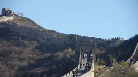 zeď : Great wall,China ancient architecture. Dostupné videozáznamy