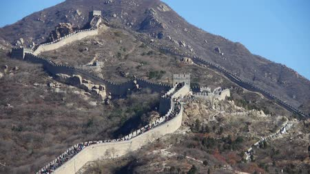 great wall of china : Great wall,China ancient defense engineering.