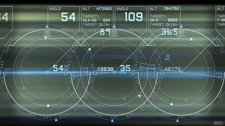 bulmak : Radar GPS screen display,computer game navigation interface.