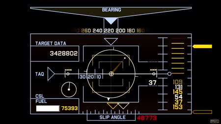 фокус : Radar GPS navigation screen display,computer game interface,hi-tech software panel.