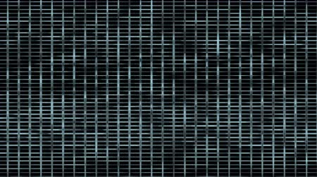 mesh : 4k Abstract metal mesh squares grid chips network background,big data & cloud storage,prison cage backdrop. Stock Footage