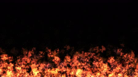 сжигание : 4k Hot Fire burning background. Abstract powerful particle smoke power energy.
