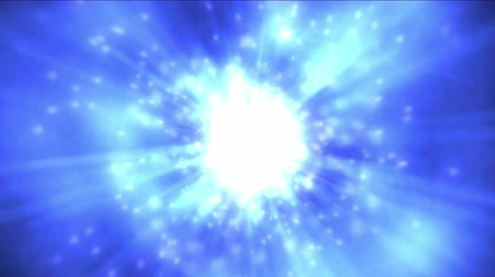 energia : 4k rotation tech energy  flare dynamic rays fiber light in space, nebula flying particles in universe.