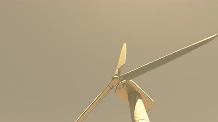 solarium : Windmill Turbines Clean,Green Wind Energy,new power energy. Stock Footage