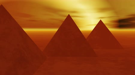 piramit : timelapse of the famous pyramid in Egypt at night.