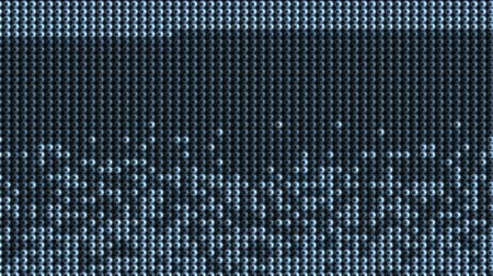 tuned :  Abstract particles dots beads grid info background,screen moniter,led neon Scanning big data,detect electronics technology high tech information backdrop.