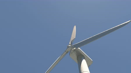 energy generation : Windmill Turbines Clean,Green Wind Energy,new power energy. Stock Footage