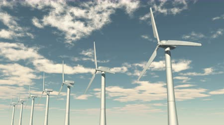 vento : Windmill Turbines Clean,timelapse cloud,Green Wind Energy,new power energy. Vídeos