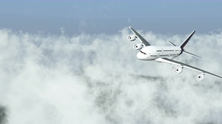 fly away : airplane flying above clouds,hight altitude space.