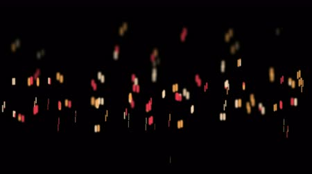 lasca : Particle fireworks flame fire campfire background,mosquitoes,flies dots fly art dance. Vídeos