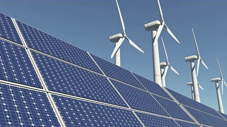 çiftlik : Solar panels & Wind power,green free clear energy.