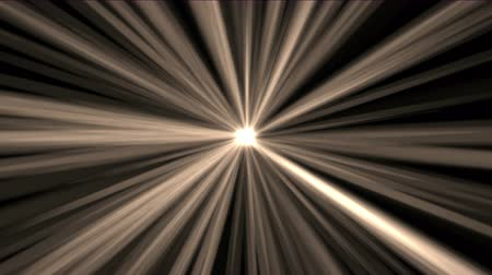 ışınları : 4k Abstract gold rays hope light background,flare star sunlight,radiation ray laser energy,tunnel passage lines backdrop.