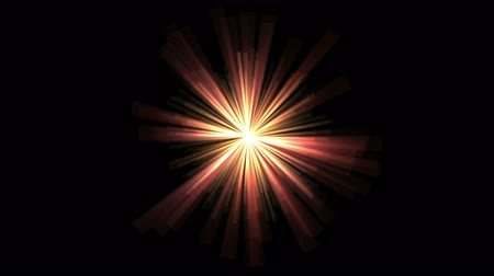 passages : 4k Abstract gold rays hope light background,flare star sunlight,radiation ray laser energy,tunnel passage lines backdrop.