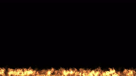 ardente : 4k Fire particles fireworks hot flame background.