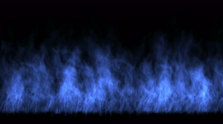 ardente : 4k Blue fire,flame burning gas light backdrop,energy heat hot passion background.