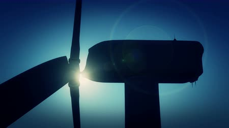 solarium : 4k Windmill Turbines Clean with Sun