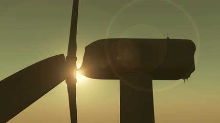 solarium : 4k Windmill Turbines Clean with Sun.