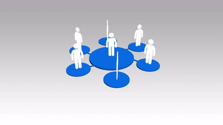 cooperative work : 4k human icons,business teamwork,Social or Business Network,a group of people in a social group,white background.