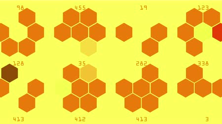 konstrukční prvky : 4k Hexagon chemical molecular,data information analysis science technology geometry architecture mathematics background.