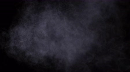 spaliny : 4k Smoke gas cloud mist.