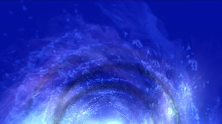 god ray : 4k Abstract energy vortex universe tunnel fireworks particle hole eddy travel background. Stock Footage