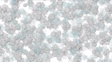 filigrana : 4k Snowflake chrismas flower design pattern background.