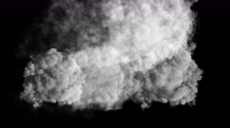 teror : 4k Abstract smoke powerful gas cloud power smog firework steam energy,hot fire burning mist fog microbe virus fume germ background.