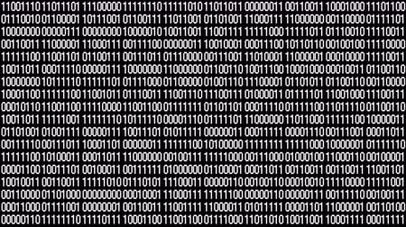 функция : The Matrix style binary code.Seamless loop.data digital display,future tech background.4k