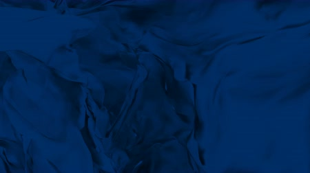 atlaszfényû : 4k Abstract silk satin fabric soft wave silky cloth background,smooth textile. Stock mozgókép