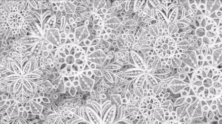 sahte : 4k Snowflake snow chrismas flower design pattern background.
