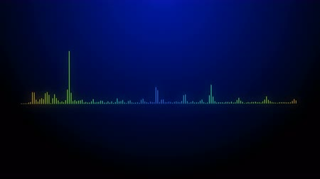 soundtrack : 4k music rhythm grahic,audio equalizer,audio spectrum glow simulation use for music and computer calculating.
