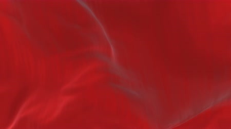 yumuşaklık : 4k Wave red satin fabric Background.Silk cloth fluttering in the wind.tenderness and airiness. 3D digital animation of a waving cloth.